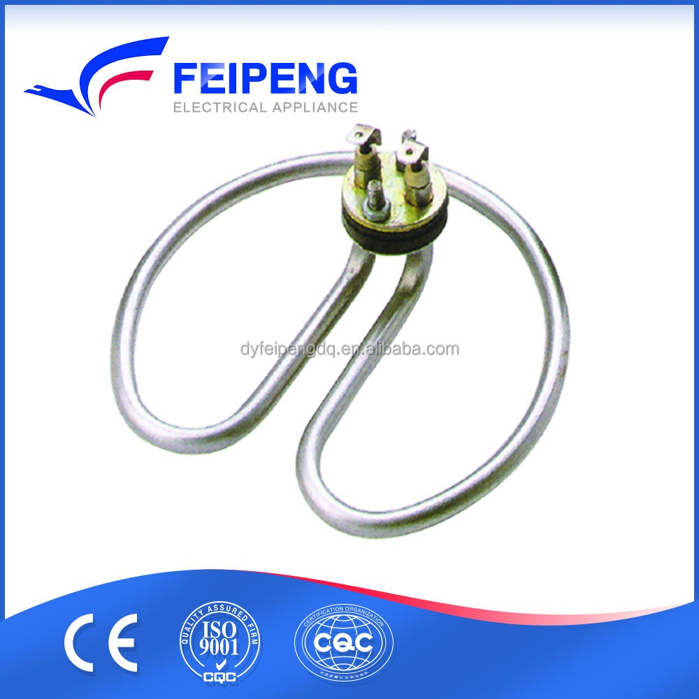 Central nut heating element for 3kw hot water tea urn boiler