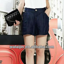 Fashion ladies denim shorts
