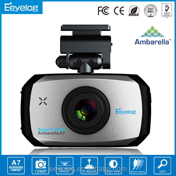 up to 1296p resolution dash camera support ldws fcws E766 Eeyelog