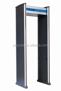 LED Alarm Security Archway Metal Detetor Gate& Security Door PD-2000 with Adjustable Sensitivity