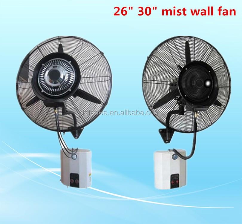 Oscillation quot industrial wall mounted water mist fan