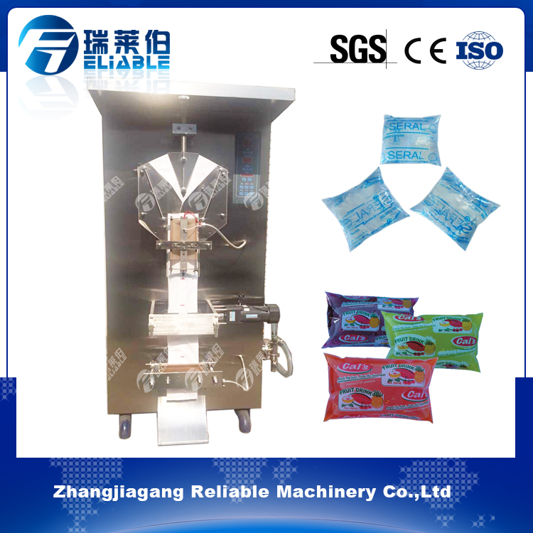 Economical cheap price plastic bag juice filling and sealing machine juice manufacturing equipment