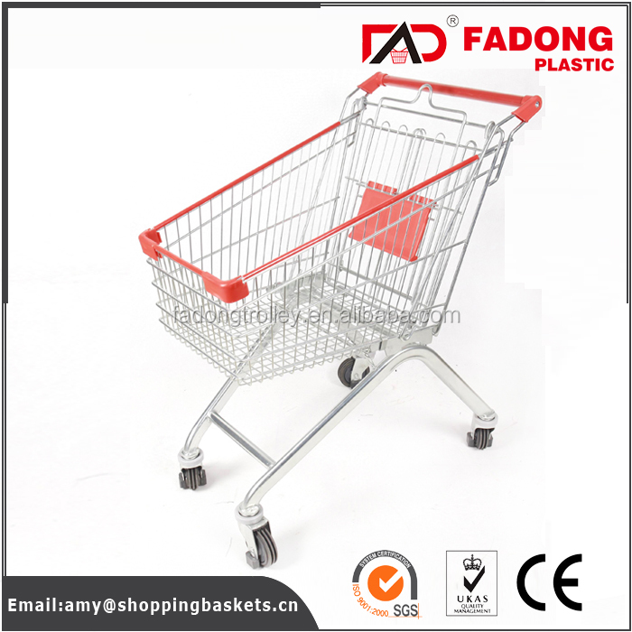 durable kids shopping trolley coin lock for elderly