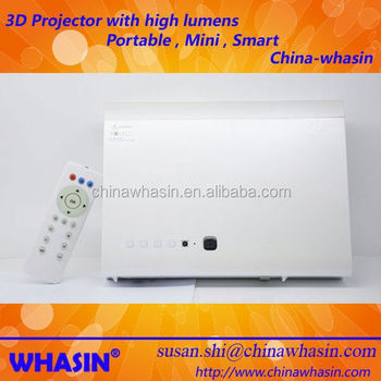 Micro Dlp Led Projector Convert 2d Movie To With Amazing Display Effect Beamer