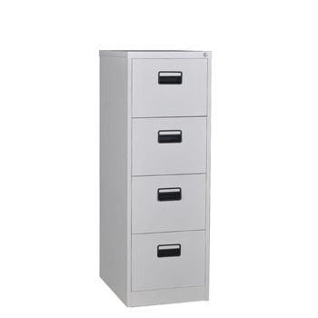 Modern Design Knock Down Double Lock Metal 4 Drawers Vertical Filing Cabinet