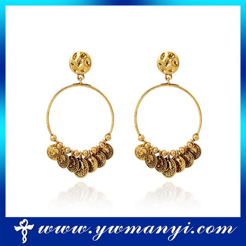 Fashion Earring 2 Gram Gold Beautiful Designed Top Design Earring ...
