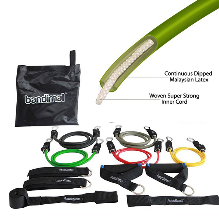 Latex Resistance Bands-Exercise Used Mini Gym For Pilates Aerial Yoga Equipment Core Training