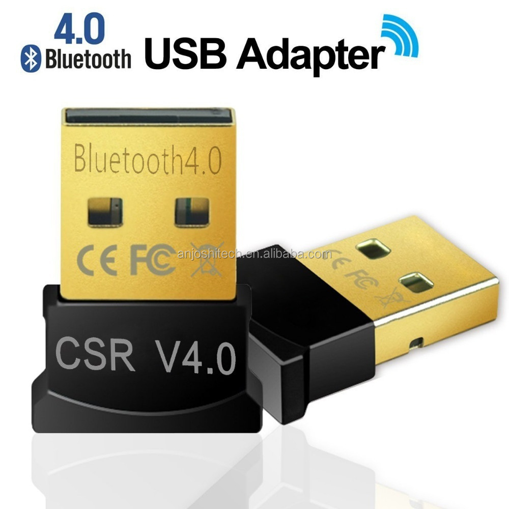 Mini USB Bluetooth V4.0 Wireless Adapter Dongle Receiver for PC Laptop Desktop Win 7 8 XP