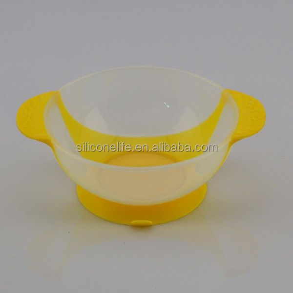 Baby Suction Bowl Baby Feeding Bowl Silicone Baby Bowl