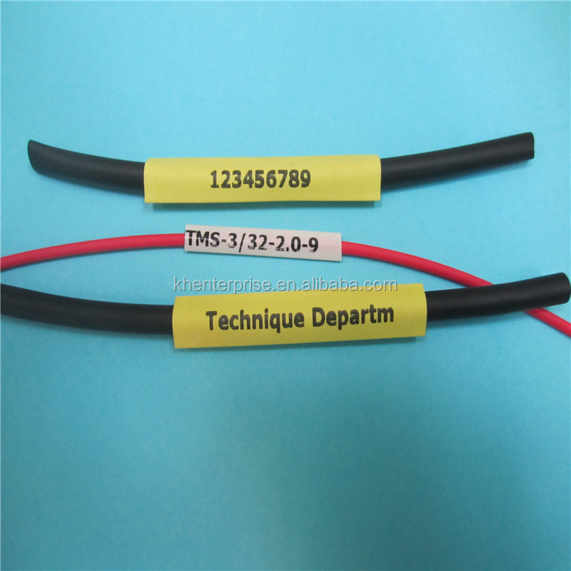 Heat Shrinkable Cable Label Tube - Buy Heat Shrinkable Cable Label ...