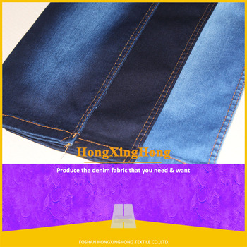 no a2727 cotton polyester rayon spandex cheap denim fabric for the