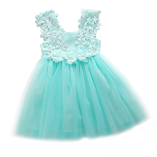 2016 Summer Baby Girl font b Dress b font Lace Baby Girl Clothes Princess font b