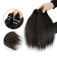 Best supplier in China kinky straight virgin human hair china
