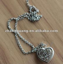 Hot sell magnetic necklace heart pendant