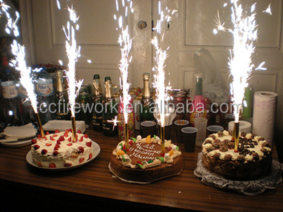 Birthday Candle Cake Fireworks Cold For Sale Sparklers