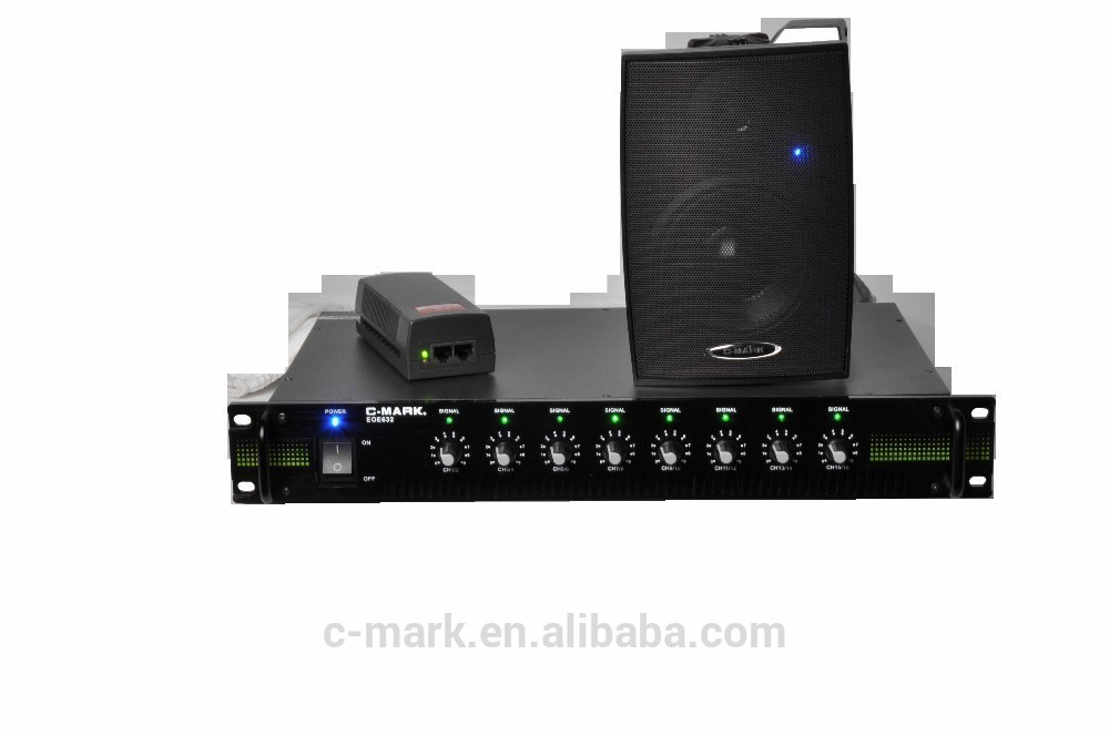 C-MARK EOE sound system for high quality background music