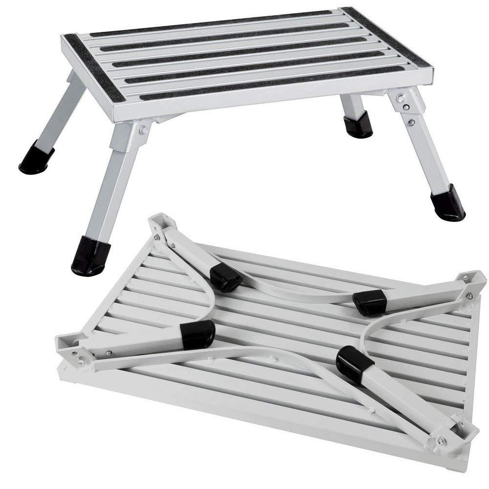 Remarkable Buy Rv Windshield Ladder 3 Step Stool Mini Motorhome Ladder Inzonedesignstudio Interior Chair Design Inzonedesignstudiocom