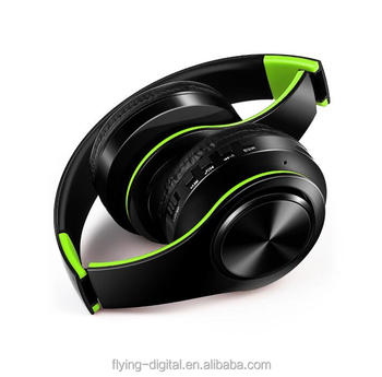High quality BT earphone folding headphones wholesaler BT headphone with and without wire