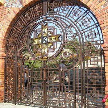 Factory Main Aluminum Gate Designs Factory Security