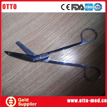 Otto Medical Bandage Scissors Names Of Medical Instruments - Buy Otto  Medical,Surgical Scissors Names,Names Of Medical Leaves Product on  Alibaba com