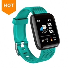 Alta calidad 116 plus Heart Rete Monitor banda Fitness Tracker Smartwatch IP67 pulsera inteligente impermeable