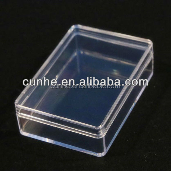 China Supply all kinds of transparent plastic box, clear plastic box company