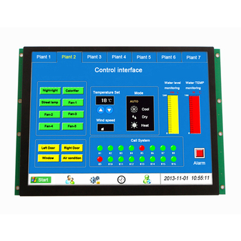 "Industrial 10.4"" 800x600 hmi tft lcd display for vending machine"