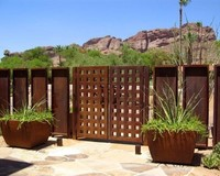Corten Steel Landscape Edging For Garden Decor