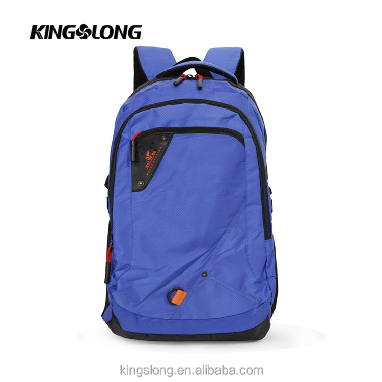 China custom waterproof camping hiking school backpack 2017
