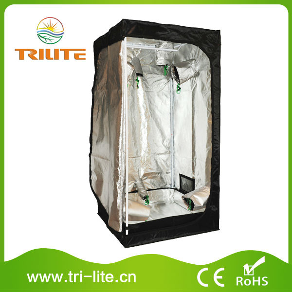 80x80x160cm hydroponics plant grow tent green dark room indoor garden