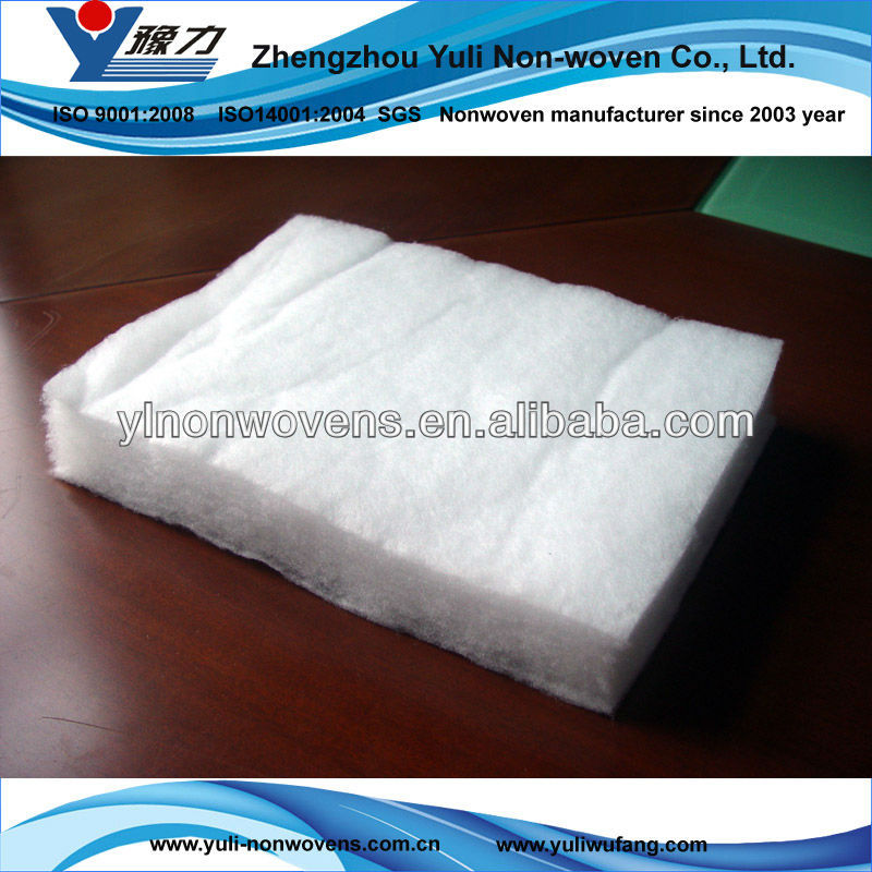 Good toughness Micro Non woven Batting for bedding In China