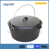 Outdoor Camping Cookware Three Legged Dutch Oven For Camping