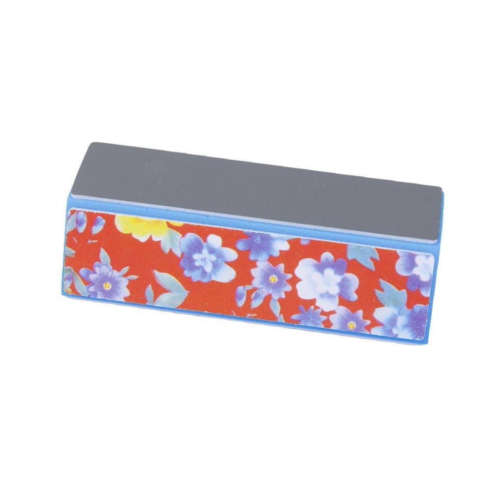 4 Way Nail Art Buffer Shiner Buffing Block Sanding Files Nail Buffer Block for Manicure by Generic