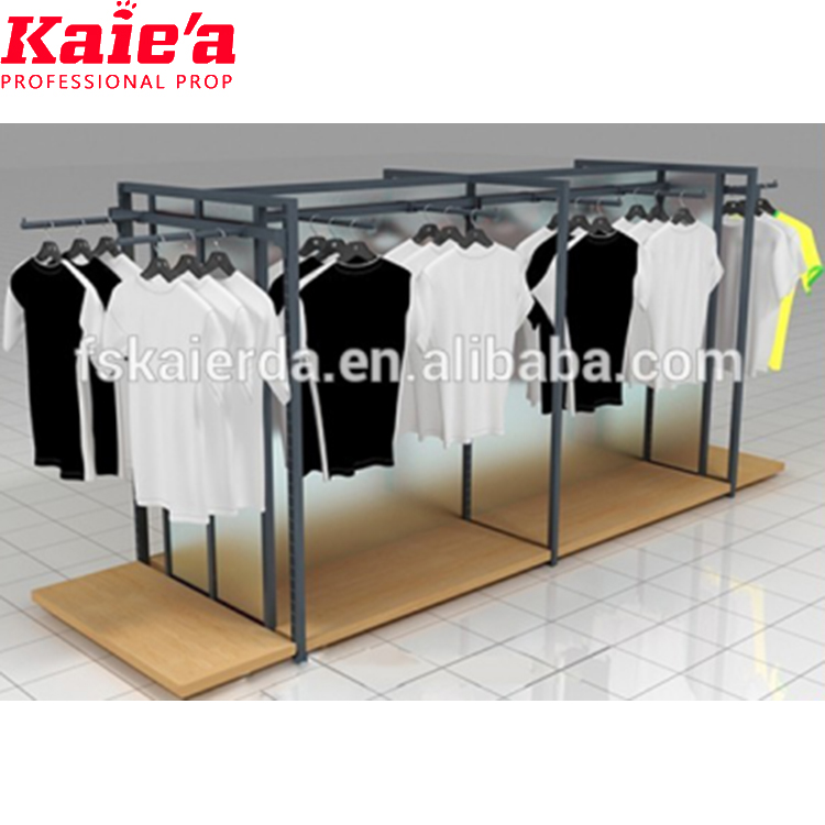portable t-shirt display stand t shirt rack