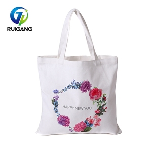 Wholesale Price heat transfer printing cotton shoulder bag