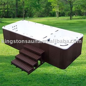 super luxury design acrylic swimming spa pool jcs ss1 view swim spa kgt product details from. Black Bedroom Furniture Sets. Home Design Ideas