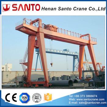 Double Girder Gantry Crane Rail Mounted Calculation Engineering Design  Drawing 25 Ton 30 Ton 100 Ton 150 Ton 300 Ton - Buy Double Girder Gantry