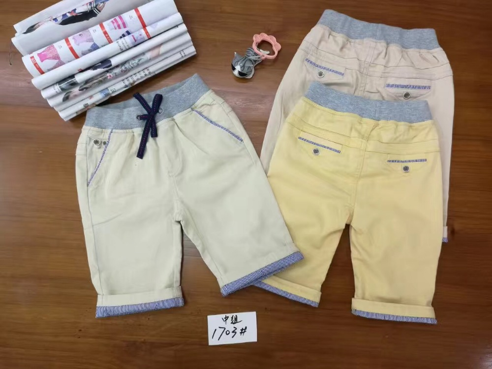 Hot Cheap Turkey Baby boy summer casual Trousers Kids 4 Years old Short Cool pants