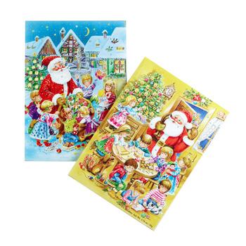 christmas milk chocolate advent calendar