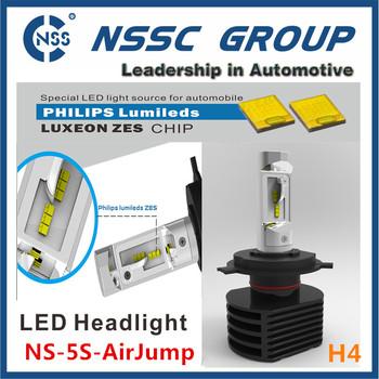 2016 5s Led Headlights H4 Hi/low Beam 7000lm Cr-ee Led Car ...