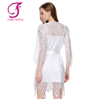 FUNG 3022 New Design Plus Size Lace Dressing Gowns For Women