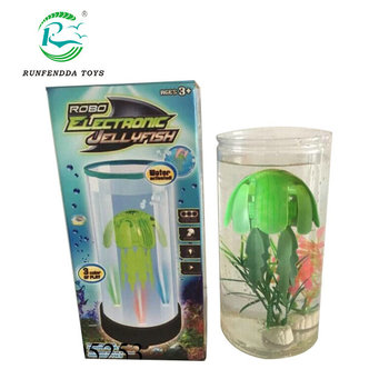 New Product Led Light Fish Tank Robot Electronic Jellyfish Toys