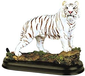 StealStreet SS-G-19718 White Tiger Collectible Wild Cat Animal Decoration Figurine Statue