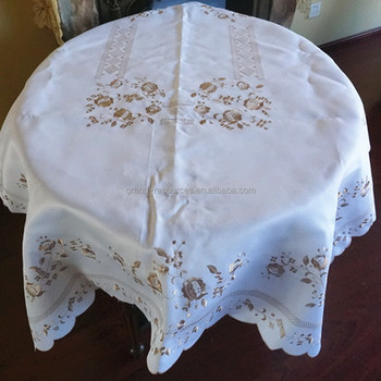 Underlay Table Cloth Embroidery Table Cloth
