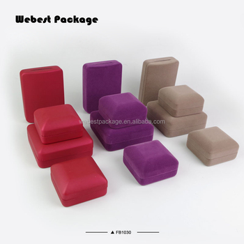 Webest Custom Logo Available Plastic Jewelry Packaging Velvet Necklace Gift Boxes Wholesale Buy Jewelry Packaging Jewelery Box Wholesale Velvet