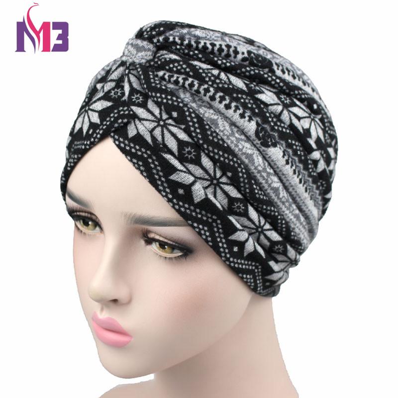 Detalle Comentarios Preguntas sobre Nueva moda mujer Turbante de ... 26cbc81eb16