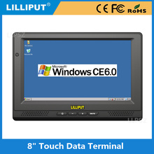 Touch screen car 8 inch Linux 2.6.32 os lcd monitor with wifi panel pc