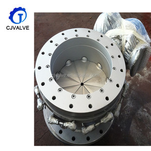 China wholesalesingle acting High temperature pneumatic Flange Ventilation Butterfly valve
