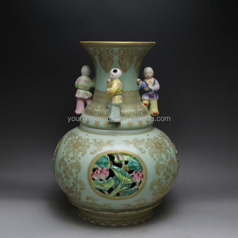 Qing Dynasty Antique Vase Qing Dynasty Antique Vase Suppliers And