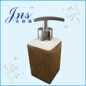 Manual ceramic soap dispensor